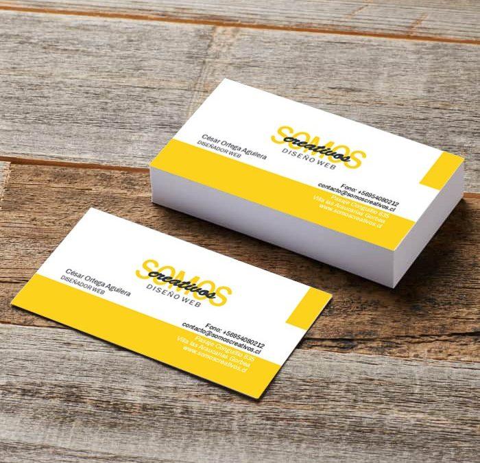 Sácale provecho a tus tarjetas de presentación