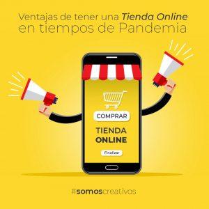 ventajas de tener una tienda online durante la pandemia